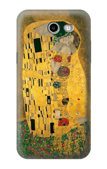 Printed Gustav Klimt The Kiss Samsung Galaxy J3 Emerge Case