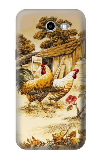 Printed French Country Chicken Samsung Galaxy J3 Emerge Case