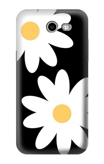Printed Daisy White Flowers Samsung Galaxy J3 Emerge Case