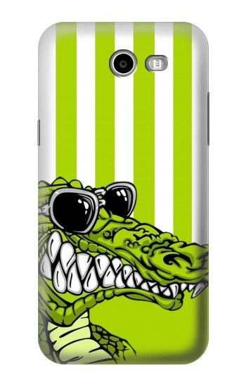 Printed Funny Green Alligator Crocodile Samsung Galaxy J3 Emerge Case