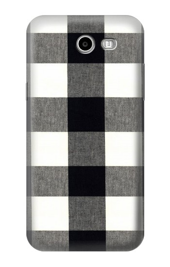 Printed Black and White Buffalo Check Pattern Samsung Galaxy J3 Emerge Case