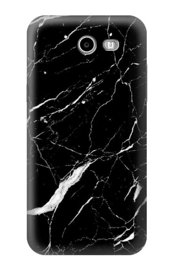 Printed Black Marble Graphic Printed Samsung Galaxy J3 Emerge Case