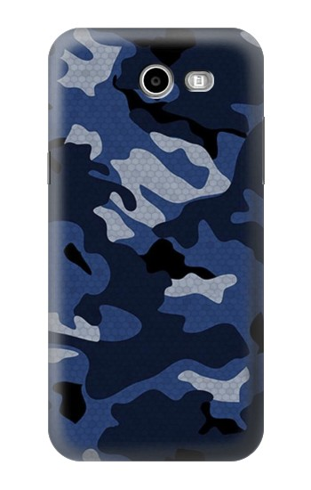 Printed Navy Blue Camouflage Samsung Galaxy J3 Emerge Case