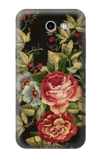 Printed Vintage Antique Roses Samsung Galaxy J3 Emerge Case