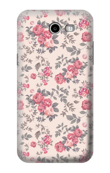 Printed Vintage Rose Pattern Samsung Galaxy J3 Emerge Case