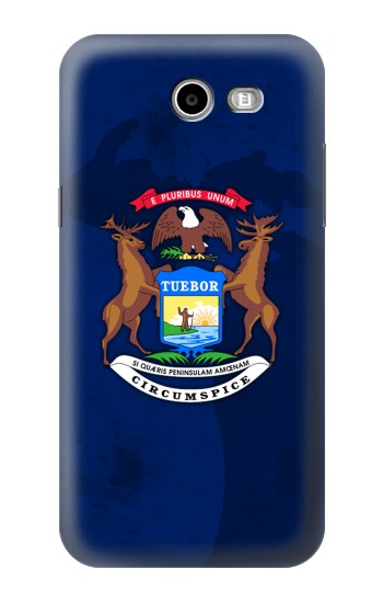Printed State of Michigan Flag Samsung Galaxy J3 Emerge Case