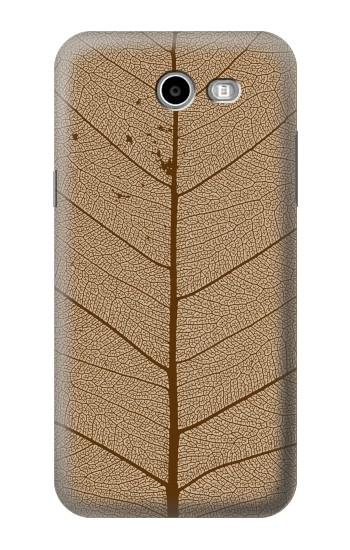 Printed Skeleton Leaf Printed Samsung Galaxy J3 Emerge Case