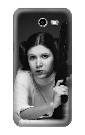 Printed Princess Leia Carrie Fisher Samsung Galaxy J3 Emerge Case