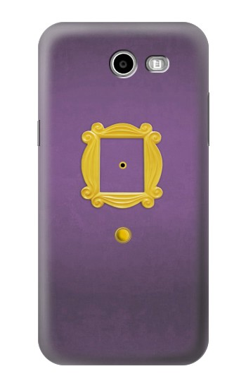 Printed Friends Purple Door Minimalist Samsung Galaxy J3 Emerge Case
