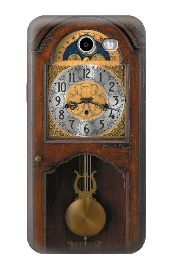Printed Grandfather Clock Antique Wall Clock Samsung Galaxy J3 Emerge Case