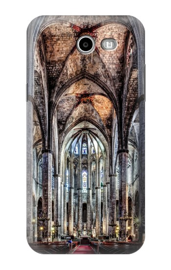 Printed Santa Maria Del Mar Cathedral Samsung Galaxy J3 Emerge Case