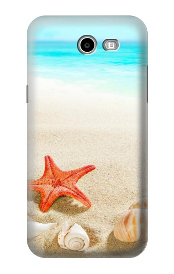 Printed Sea Shells Starfish Beach Samsung Galaxy J3 Emerge Case