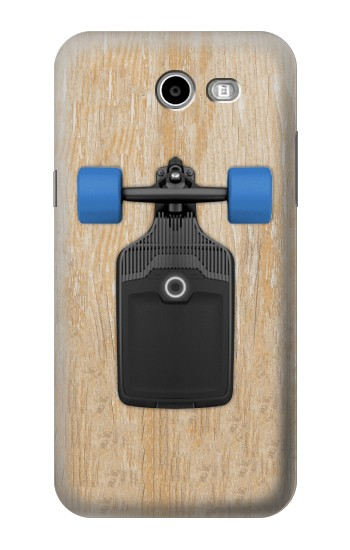 Printed Skateboard Samsung Galaxy J3 Emerge Case