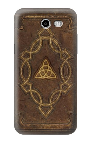 Printed Spell Book Cover Samsung Galaxy J3 Emerge Case