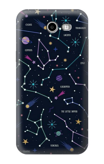 Printed Star Map Zodiac Constellations Samsung Galaxy J3 Emerge Case