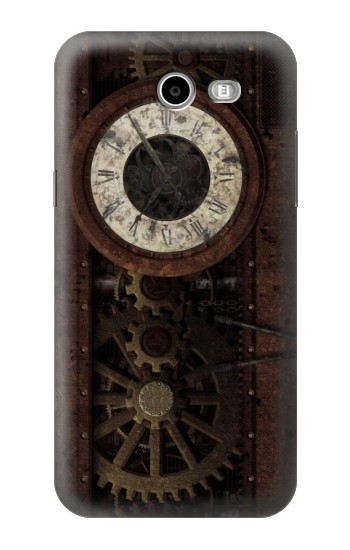 Printed Steampunk Clock Gears Samsung Galaxy J3 Emerge Case