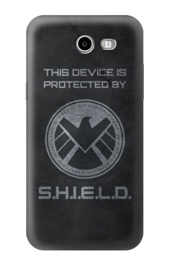 Printed This Device is Protected by Shield Samsung Galaxy J3 Emerge Case