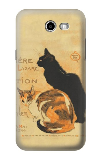 Printed Vintage Cat Poster Samsung Galaxy J3 Emerge Case
