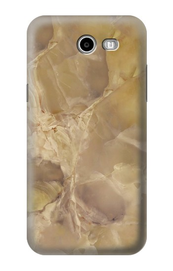 Printed Yellow Marble Stone Samsung Galaxy J3 Emerge Case