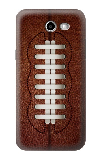 Printed Leather Vintage Football Samsung Galaxy J3 Emerge Case