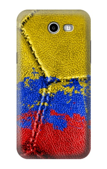 Printed Colombia Flag Vintage Football 2018 Samsung Galaxy J3 Emerge Case