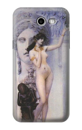 Printed Gustav Klimt Allegory of Sculpture Samsung Galaxy J3 Emerge Case