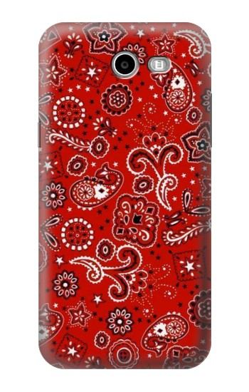 Printed Red Bandana Samsung Galaxy J3 Emerge Case