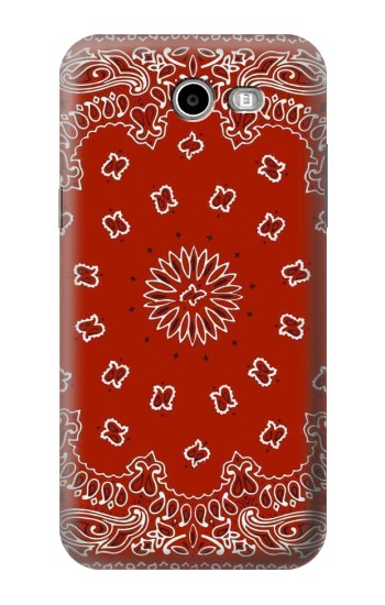 Printed Bandana Red Pattern Samsung Galaxy J3 Emerge Case