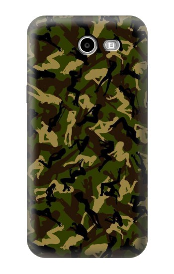 Printed Sexy Girls Camo Samsung Galaxy J3 Emerge Case