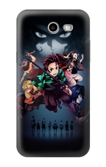 Printed Demon Slayer Kimetsu no Yaiba Samsung Galaxy J3 Emerge Case