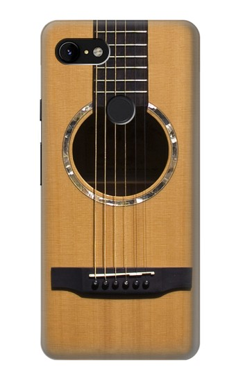 Printed Acoustic Guitar Google Pixel 3 XL Case