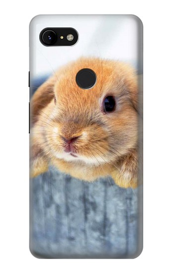 Printed Cute Rabbit Google Pixel 3 XL Case