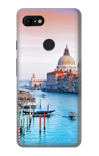 Printed Beauty of Venice Italy Google Pixel 3 XL Case