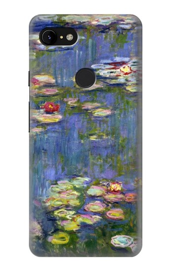 Printed Claude Monet Water Lilies Google Pixel 3 XL Case