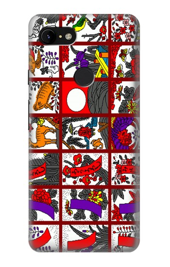 Printed Hanafuda Japanese Flower Card Google Pixel 3 XL Case
