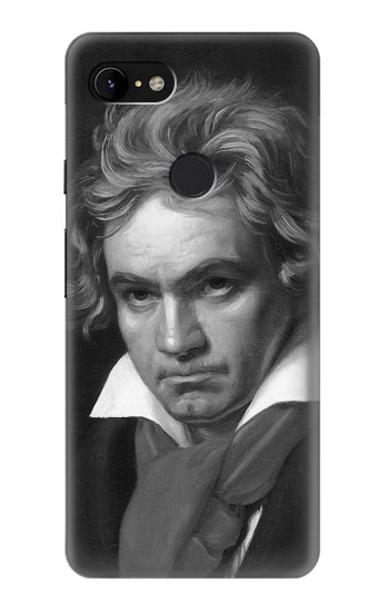 Printed Beethoven Google Pixel 3 XL Case
