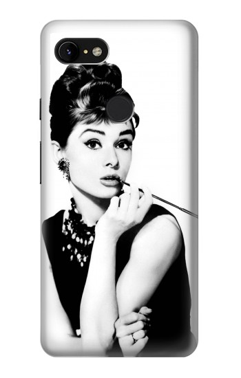 Printed Audrey Hepburn Breakfast at Tiffanys Google Pixel 3 XL Case