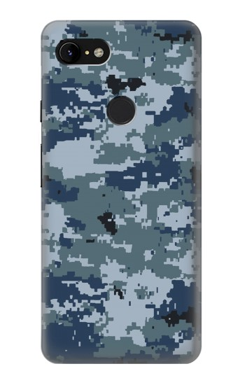 Printed Navy Camo Camouflage Graphic Google Pixel 3 XL Case