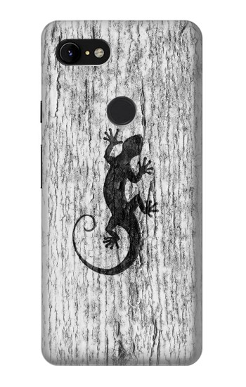 Printed Gecko Wood Graphics Printed Google Pixel 3 XL Case