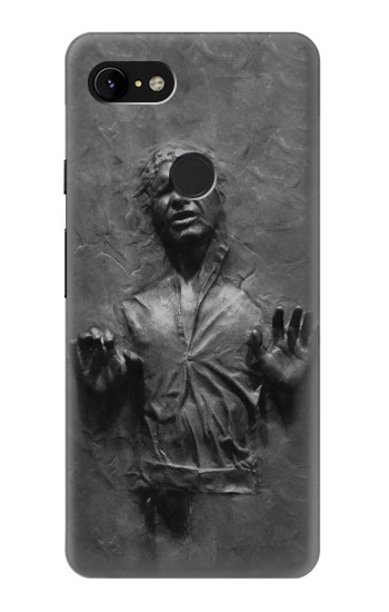 Printed Han Solo Frozen in Carbonite Google Pixel 3 XL Case