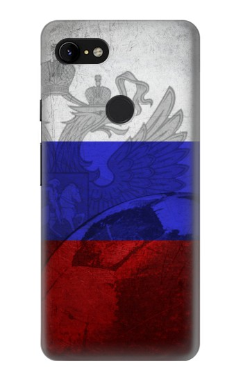 Printed Russia Football Flag Google Pixel 3 XL Case