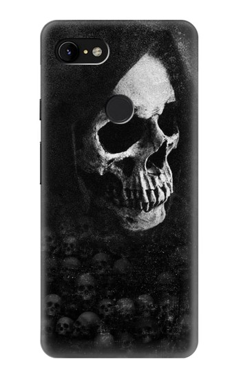 Printed Death Skull Google Pixel 3 XL Case
