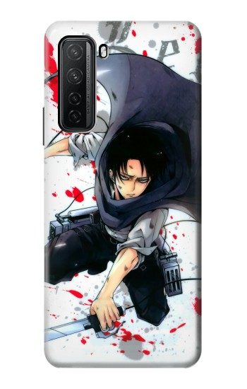 Printed Attack on Titan Rivaille Levi Huawei P40 lite 5G Case