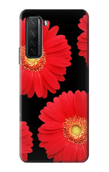 Printed Red Daisy flower Huawei P40 lite 5G Case