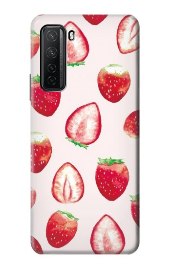 Printed Strawberry Huawei P40 lite 5G Case