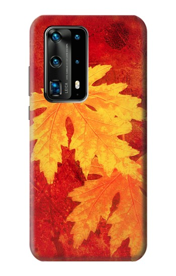 Printed Maple Leaf Huawei P40 Pro+ Case