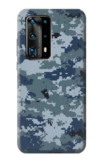 Printed Navy Camo Camouflage Graphic Huawei P40 Pro+ Case