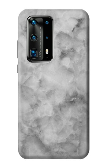 Printed Gray Marble Texture Huawei P40 Pro+ Case