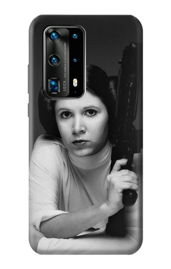 Printed Princess Leia Carrie Fisher Huawei P40 Pro+ Case