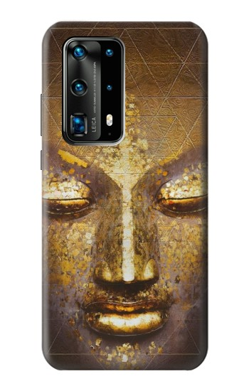 Printed Magical Yantra Buddha Face Huawei P40 Pro+ Case